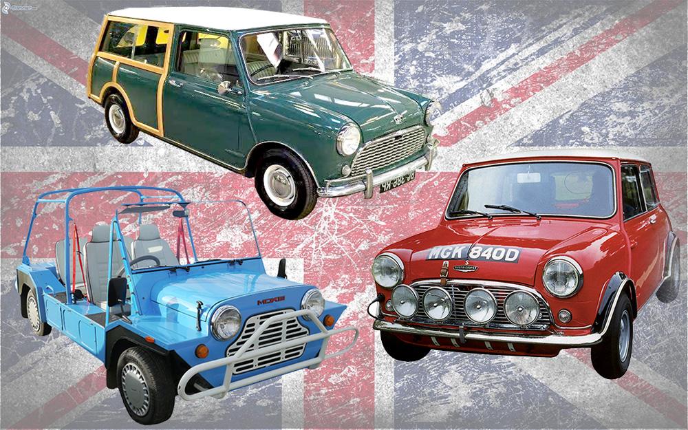 Modèles Mini 1959 à 2001